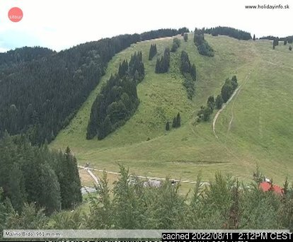Ružomberok - Malino Brdo webcam at lunchtime today