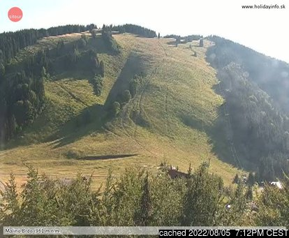 Live Snow webcam for Ružomberok - Malino Brdo