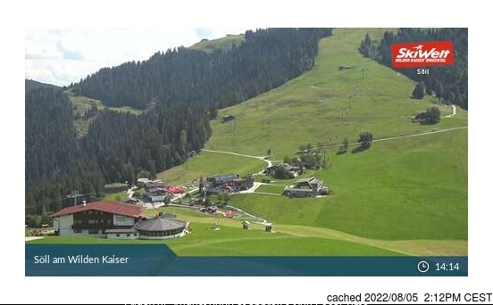 Söll webcam at 2pm yesterday