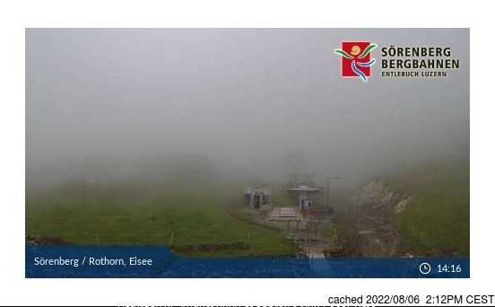 Sörenberg webcam at lunchtime today