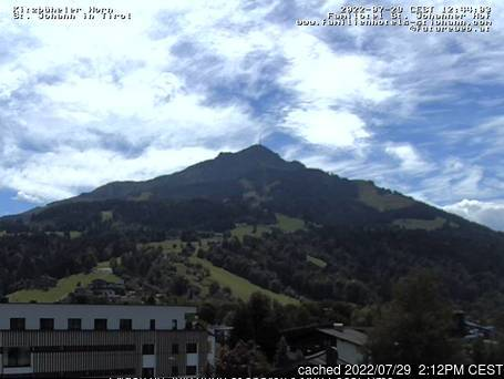 St Johann in Tirol webcam at lunchtime today