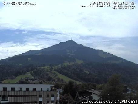 St Johann in Tirol webcam alle 2 di ieri sera