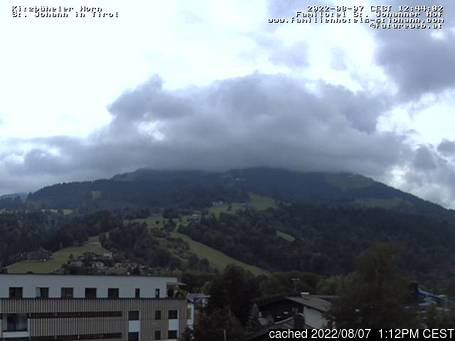Live Webcam für St Johann in Tirol