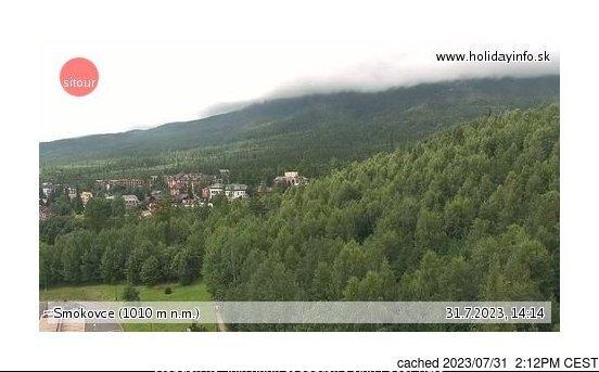 Webcam de Starý Smokovec à 14h hier