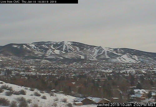 Steamboat webcam at 2pm yesterday