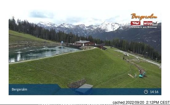 dün saat 14:00'te Steinach/Silbersattel'deki webcam