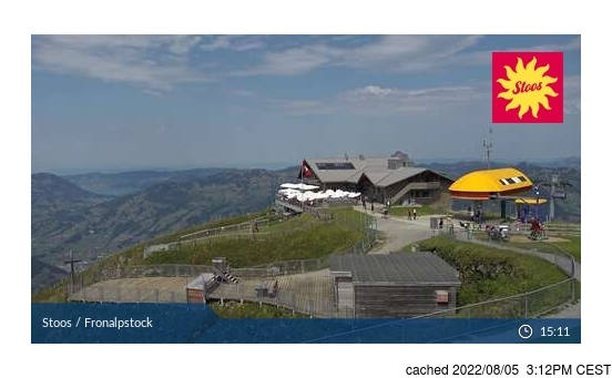 Live webcam per Stoos se disponibile