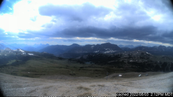 Webcam de Sunshine Village a las 2 de la tarde hoy