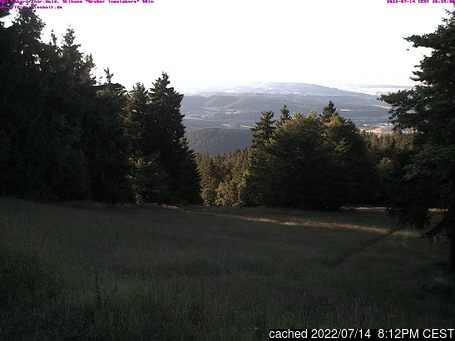 Webcam en vivo para Tabarz/Inselsberg/Datenberg