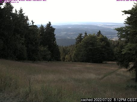 Tabarz/Inselsberg/Datenbergの雪を表すウェブカメラのライブ映像
