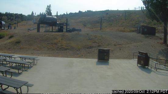 Tahoe Donner webcam om 2uur s'middags vandaag