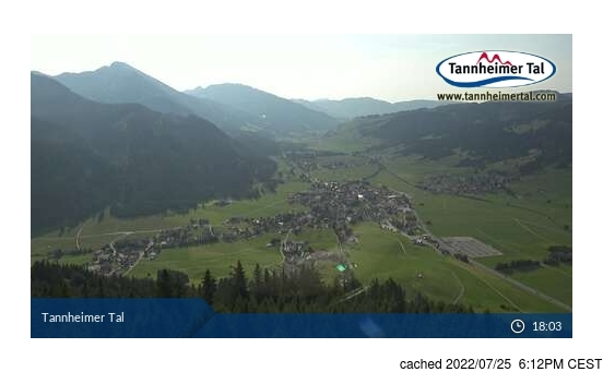 Live Snow webcam for Tannheim/Neunerköpfle