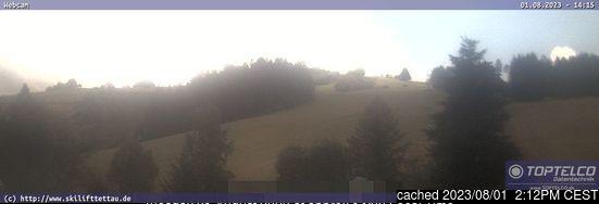 Tettau webcam at 2pm yesterday