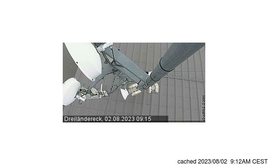 Live Snow webcam for Dreilaendereck