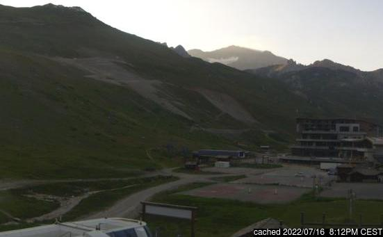 Live Snow webcam for Tignes