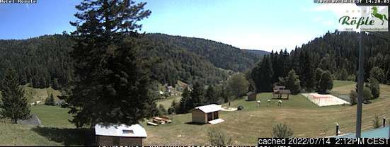 Todtmoos webcam om 2uur s'middags vandaag