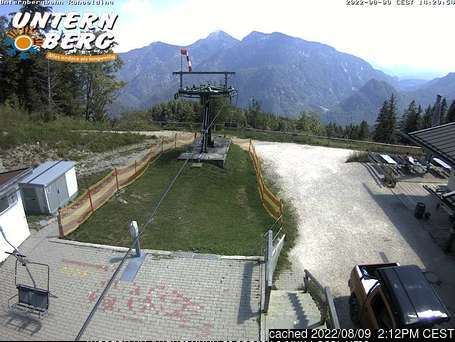 Unternberg Ruhpolding webcam at lunchtime today
