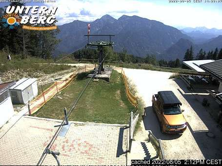 Unternberg Ruhpolding webcam at 2pm yesterday