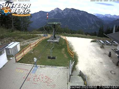Live webcam per Unternberg Ruhpolding se disponibile