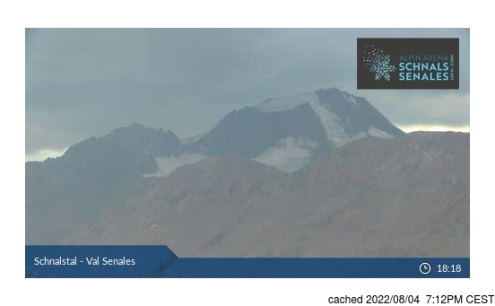 Live webcam per Val Senales (Schnalstal) se disponibile