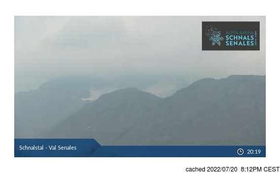 Live Snow webcam for Val Senales (Schnalstal)