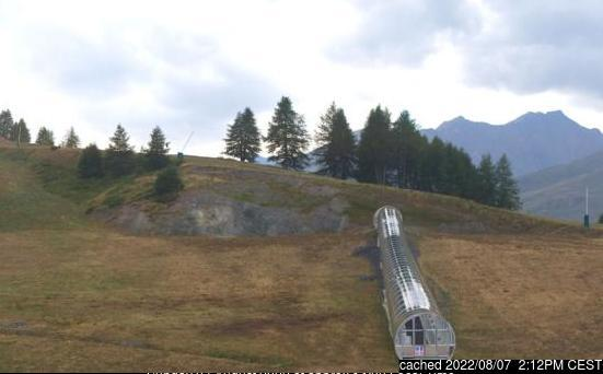 Valloire webcam alle 2 di ieri sera