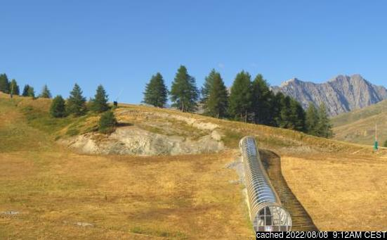 Live webcam per Valloire se disponibile