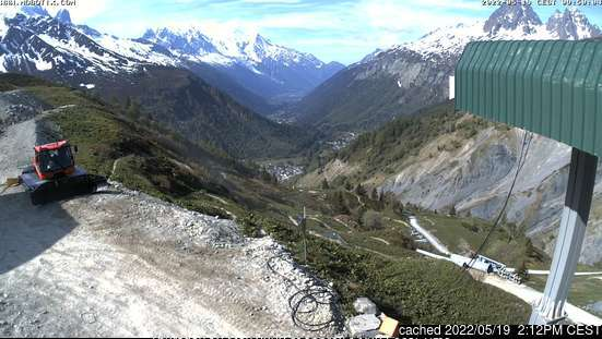 Vallorcine webcam all'ora di pranzo di oggi