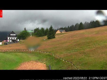 Velká Úpa webcam at 2pm yesterday