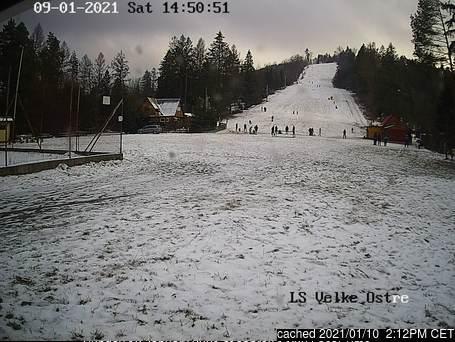 Webcam de Veľké Ostré a las doce hoy