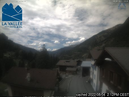 Verbier webcam at lunchtime today