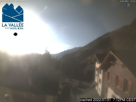 Live Snow webcam for Verbier