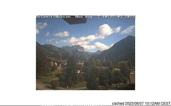 Vigo di Fassa webcam hoje à hora de almoço