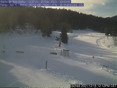 Villard-de-Lans webcam om 2uur s'middags vandaag