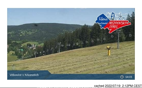 Webcam de Vítkovice - Aldrov a las doce hoy