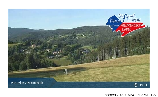 Live webcam per Vítkovice - Aldrov se disponibile