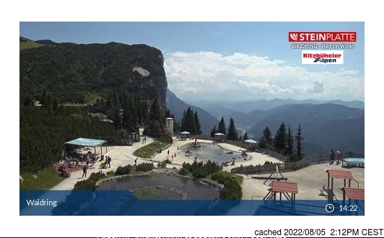 Waidring webcam at 2pm yesterday