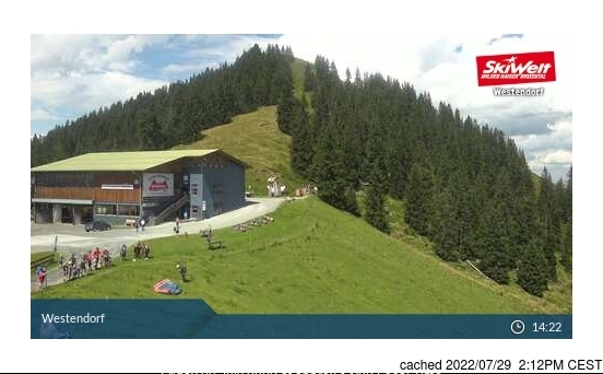 Westendorf webcam at 2pm yesterday