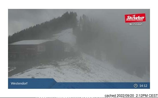 Webcam de Westendorf à 14h hier