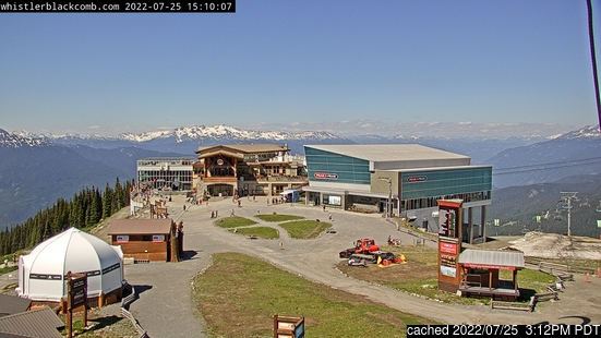 Live webcam per Whistler Blackcomb se disponibile