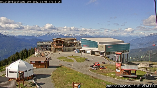 Whistler Blackcomb için canlı kar webcam