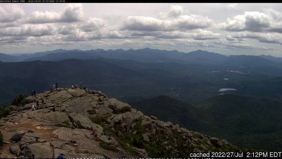 Whiteface Mountain (Lake Placid) webcam at lunchtime today