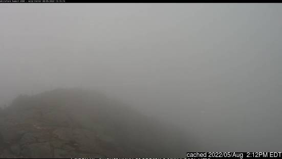 Whiteface Mountain (Lake Placid) Webcam gestern um 14.00Uhr