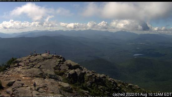 Whiteface Mountain (Lake Placid) webbkamera vid lunchtid idag