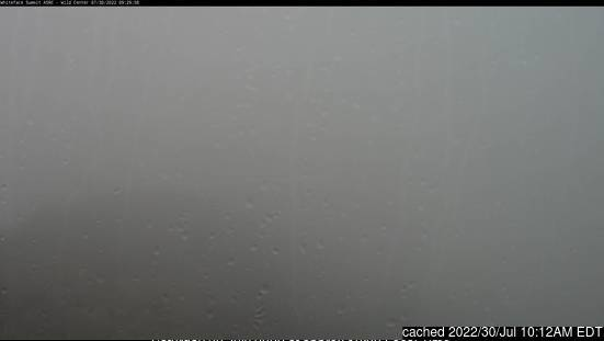 Whiteface Mountain (Lake Placid) webcam hoje à hora de almoço