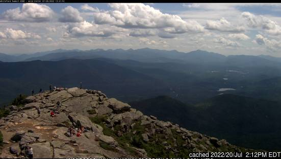 Webcam de Whiteface Mountain (Lake Placid) à 14h hier