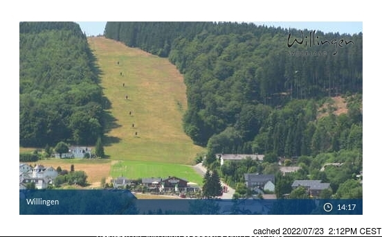 Willingen-Upland webcam all'ora di pranzo di oggi