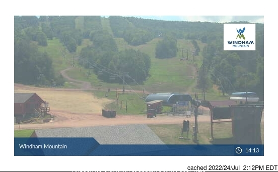 Windham Mountain webcam at 2pm yesterday