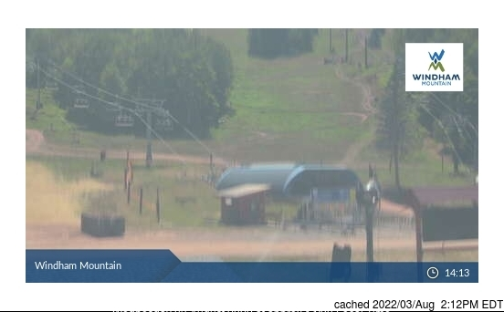 Windham Mountain Webcam gestern um 14.00Uhr