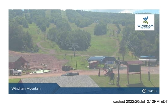 Windham Mountain webcam alle 2 di ieri sera